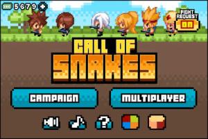 iOS限免、限時免費app軟體遊戲-Call of Snakes 1