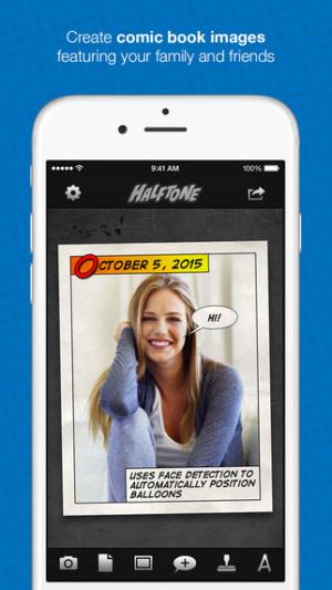 iOS限免、限時免費app軟體遊戲-Halftone 1