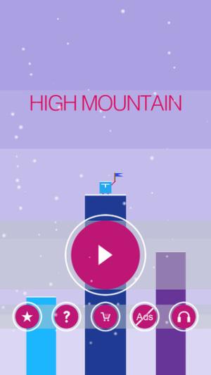iOS限免、限時免費app軟體遊戲-High Mountain 1