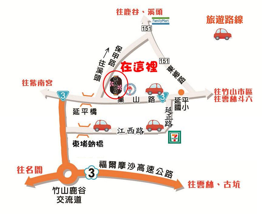map桃太郎村