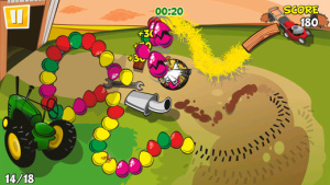 iOS限免、限時免費軟體APP遊戲-Chicken Zooma 1