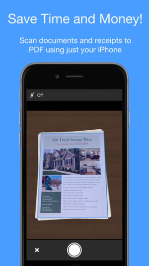 iOS限免、限時免費APP軟體遊戲-Smart PDF Scanner 1