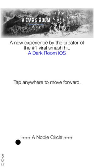 iOS限免、限時免費軟體APP遊戲-A Noble Circle 1