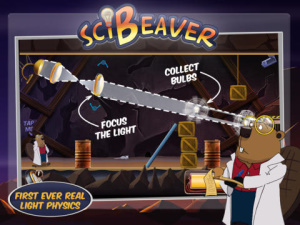iOS限免、限時免費軟體app遊戲-SciBeaver Adventures HD 1