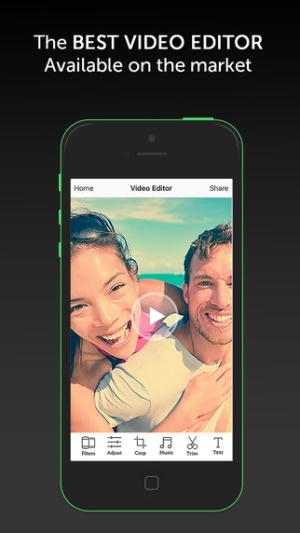 iOS限免、限時免費軟體app遊戲-Video Editor + PRO with music 1