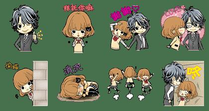 LINE Manga免費貼圖-1