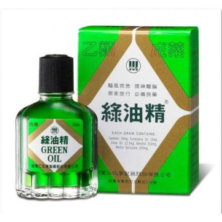 預防暈車-綠油精-1