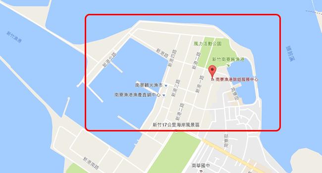 抓寶勝地-新竹南寮漁港-banner