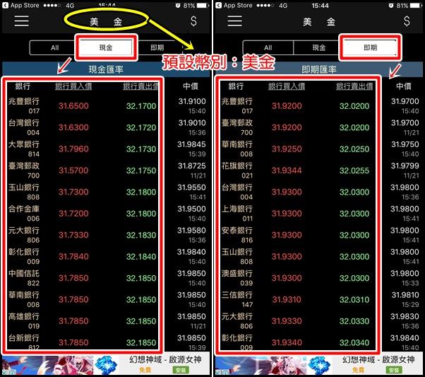 161121 台灣匯率通APP,匯率兌換, 最低點, 到價提醒,外幣兌換最划算 (3)