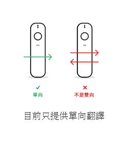ili翻譯機-單向