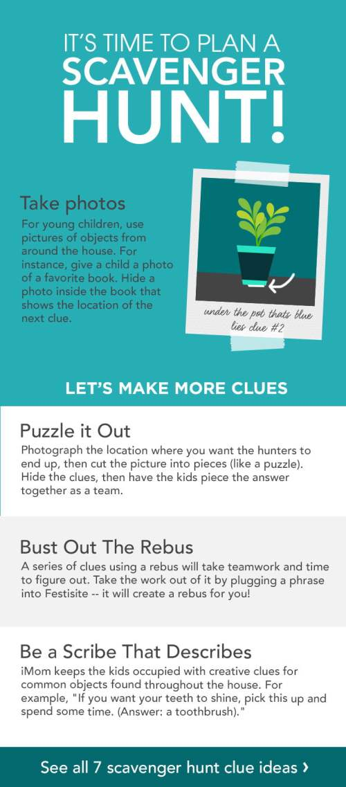 Medium Of Photo Scavenger Hunt Ideas
