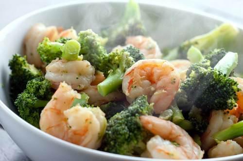 Medium Of Stir Fry Broccoli