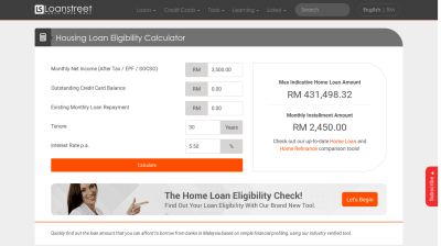 Housing Loan Eligibility Calculator