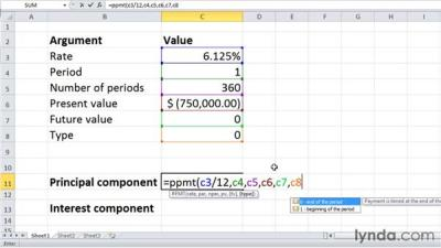 PPMT and IPMT: Calculating principal and interest per loan payment