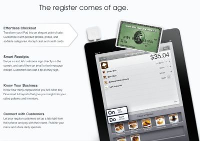 Square seeks to revolutionize retail sales with square register for ipad card case - Iphone Help ...