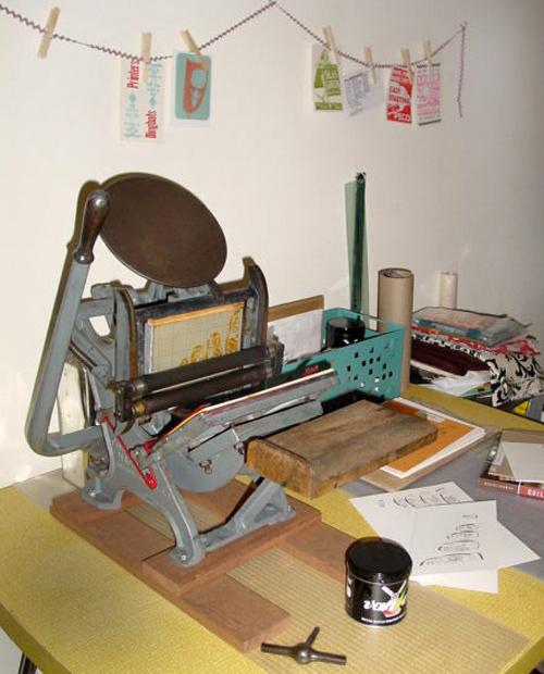 Cakeandpie Letterpress