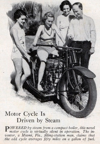 Med Steam Motorcycle
