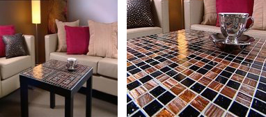 Glasstilecoffeetable