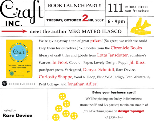 Craftinc Bookparty