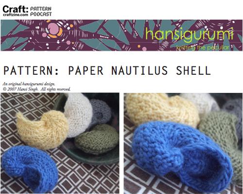 Craftpodcast Papernautilusshell