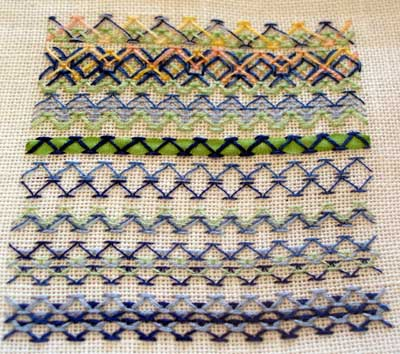 Chevron Stitch 01