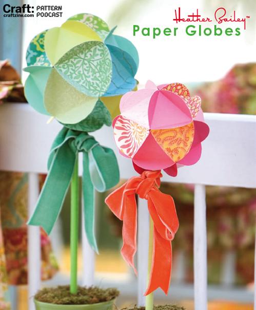 Craftpodcast Paperglobes-1