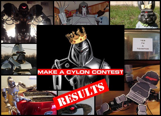 Make A Cylon Results
