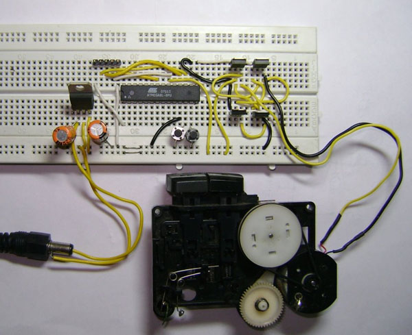 Simple Pwm Dc Motor Control With An Avr Make