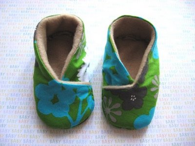 Homespun Babykimonoshoes