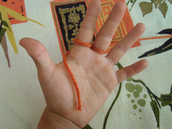 Fingerknitting Step3