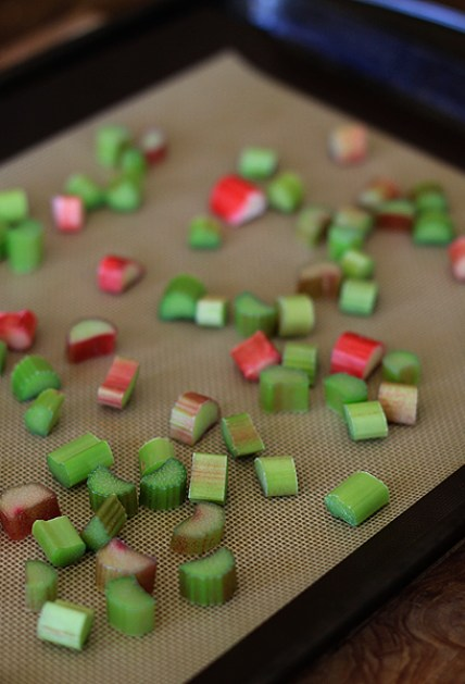 How To Freezefood Rhubarb Onsheet