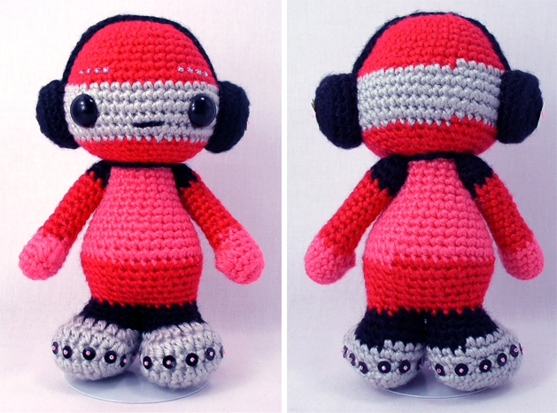 Amigurumi Headphones : CRAFT Pattern: Crochet Robot Make: