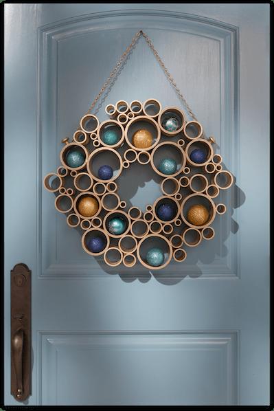 Homedepot pvc wreath