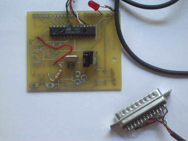 """The design path of Arduino, an open source microcontroller for the cost of a pizza.  Arduino Prototype 0: still called """"Programma 2005"""" as an evolution of """"Programma 2003""""."""