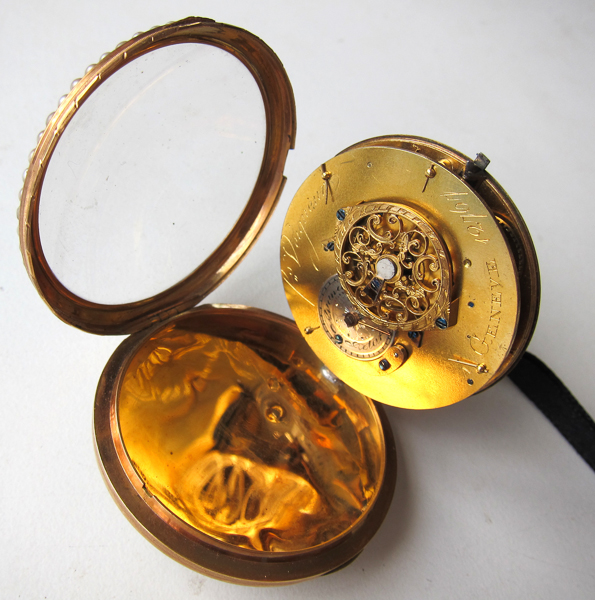 Swiss pocketwatch interior