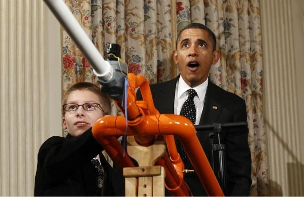 joey hudy and president obama