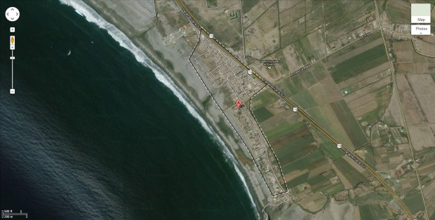 The village of Bujama, approximately 40 miles south of Lima, Peru's capital and largest city.