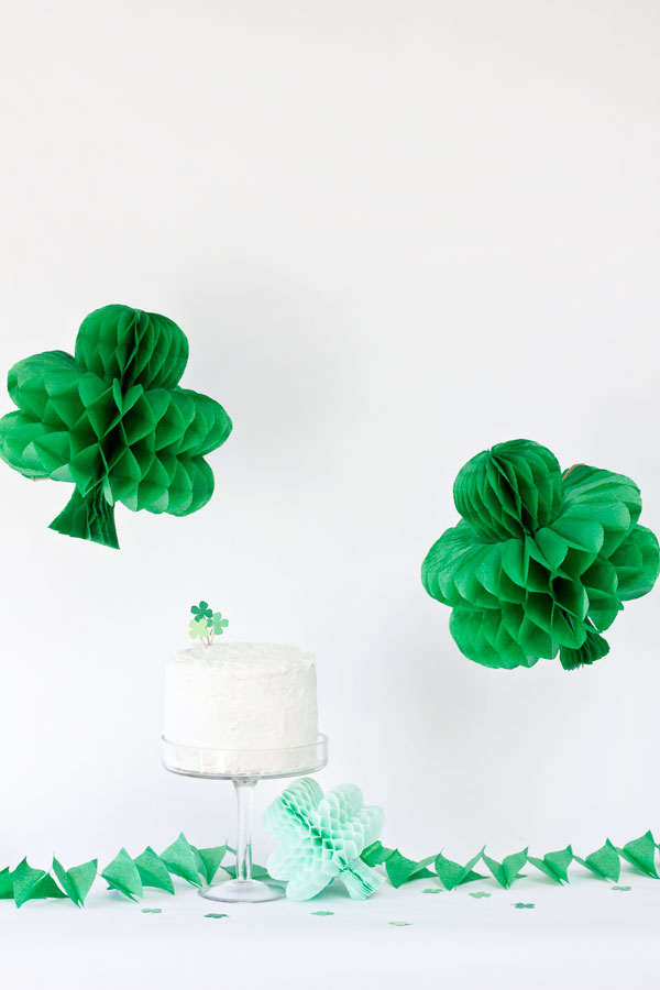 DIY-Shamrock-Honeycombs