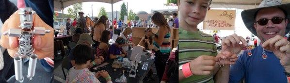 Jewelry Workshop at the 2012 Portland Mini-Maker Faire