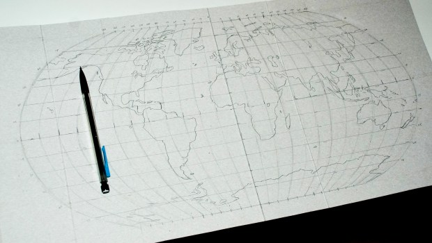 quilled map of the world2