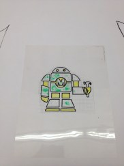 Maria Carrillo MC tshirt robot