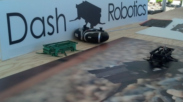 Dash Robotics at the Hardware Innovation Workshop.Photo: Andrew Terranova