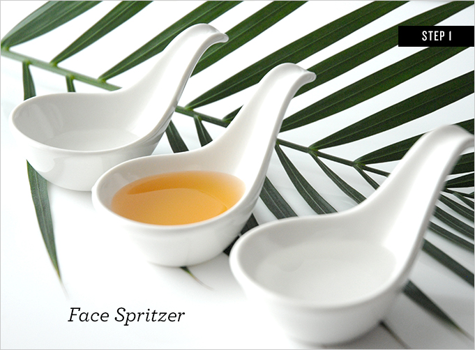 DIY beauty-face spritzer