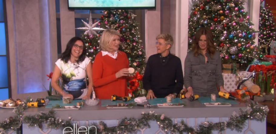 Martha on Ellen-2