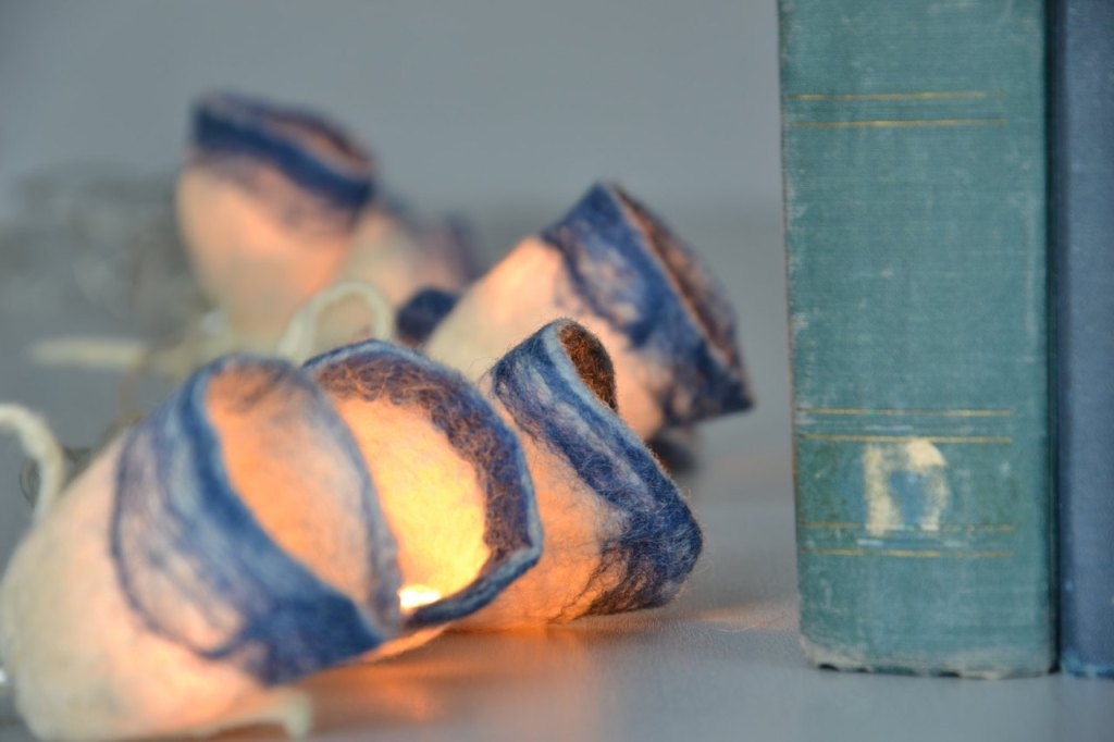 felted string lights-3
