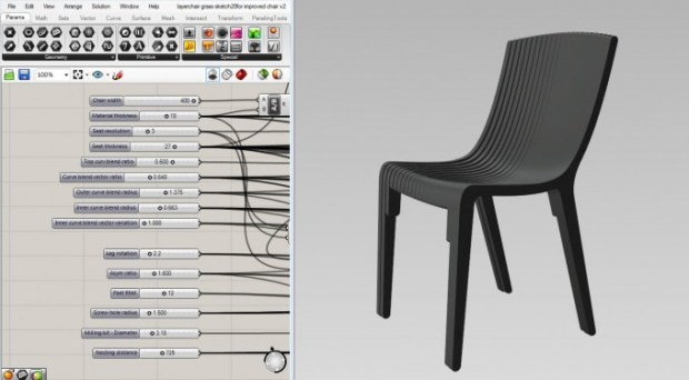 Layer-Chair-Grashopper