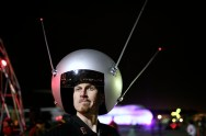 Sputnik helmet at Yuri's Night Bay Area 2007