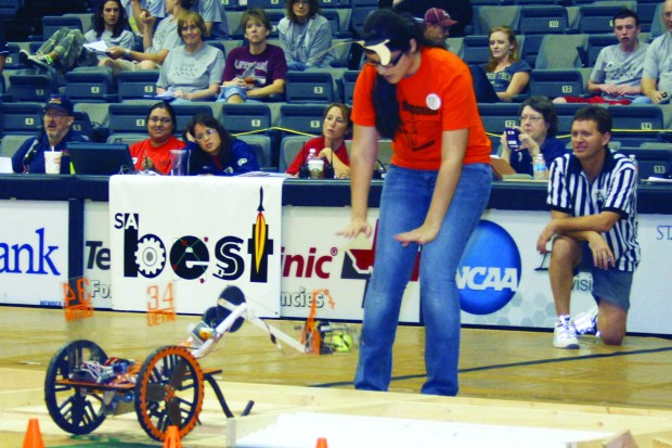 Robotics competitions show how students can learn about electronics, mechanics, and teamwork while having fun in the process.