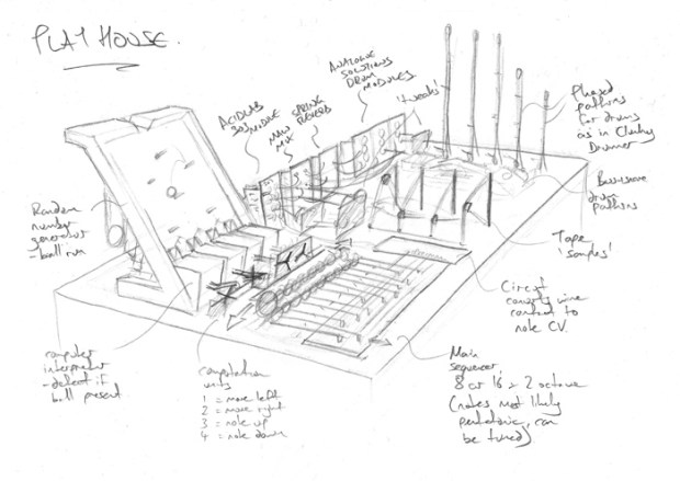 Play House sketch - MAKE