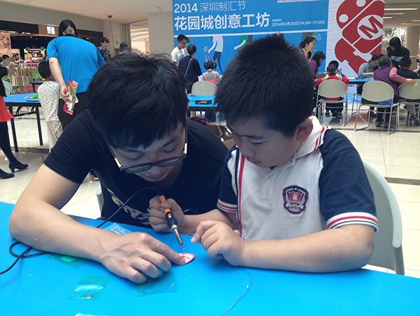 warm up activity-soldering workshop (4)